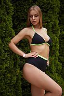 Женский пляжный купальник  Nova Vega Ramp black+salad