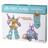 Конструктор Magplayer магнитный набор 109 эл (MPH2-109)