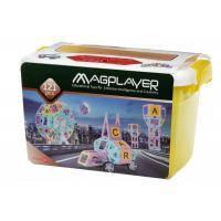 Конструктор Magplayer магнитный набор бокс 121 эл (MPT2-121)