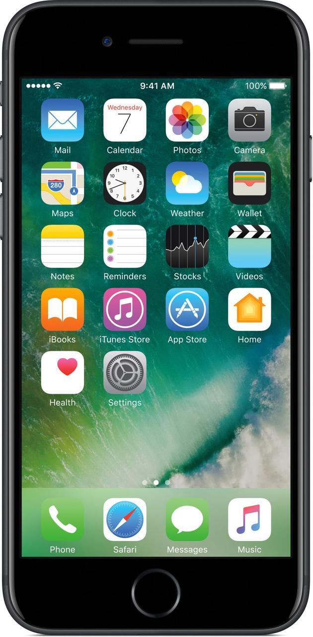 Apple iPhone 7 32GB Matte Black Grade B1