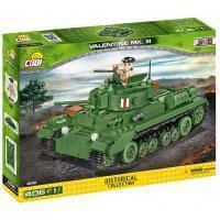 Конструктор Cobi Пехотний танк Валентайн 406 деталей (COBI-2521)