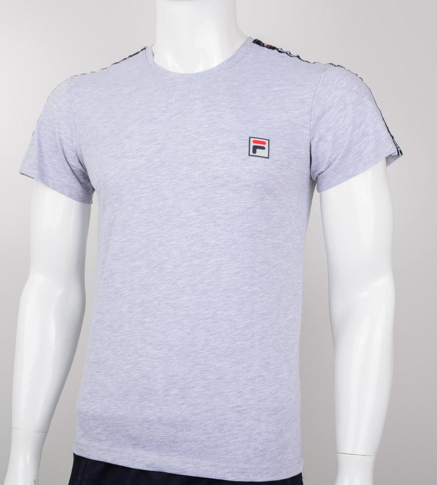 Футболка мужская FILA (0907м), Серый