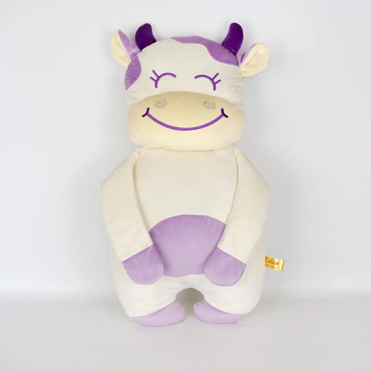 Мягкая игрушка Kidsqo Подушка корова Хлоя 56 см