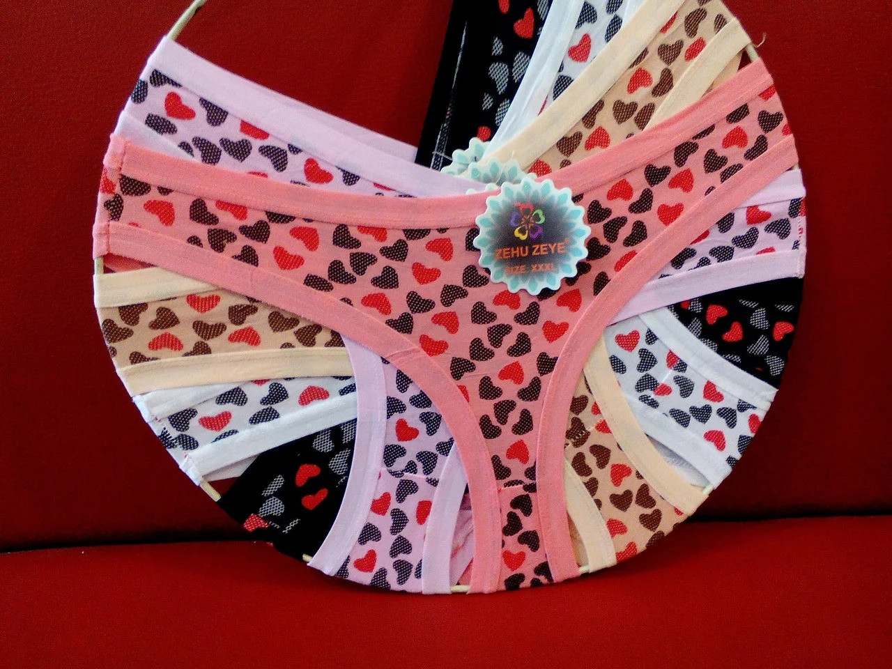 Женские трусики хлопок Р.р 44-48 один цвет в упаковке