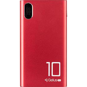 Power Bank Дополнительная батарея Gelius Pro CoolMini GP-PB10-005m 10000mAh 2.1A красный