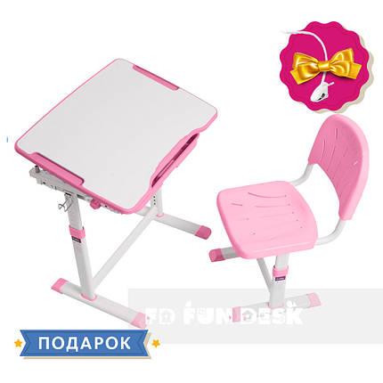 Растущая детская парта со стульчиком Cubby Sorpresa Pink, фото 2
