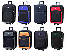 Дорожный чемодан на колесах Bonro Style маленький чёрный с зелёным, фото 5