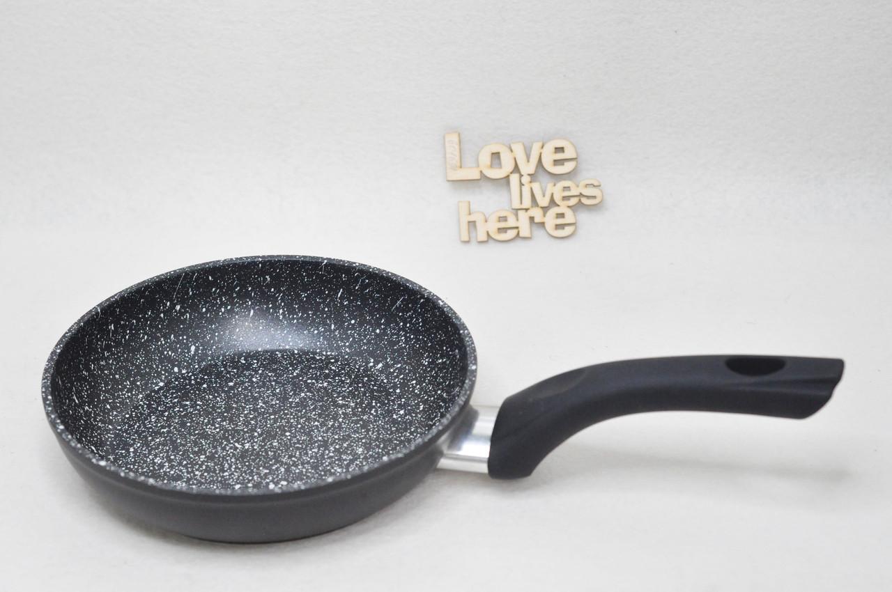 Сковорода с антипригарным покрытием «Eco Granite» Con Brio СВ 4187