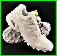 Кроссовки Salomon Speedcross 3 Белые Мужские Саломон (размеры: 42,43,44) Видео Обзор