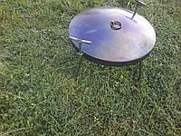 Сковорода из диска бороны 30 см с крышкой