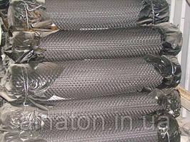 Сетка плетенная Рабица 15х15х1,0 черная