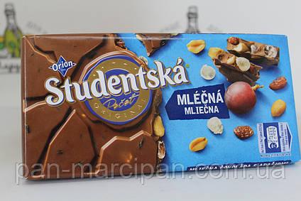 Шоколад Studentska молочний 180гр