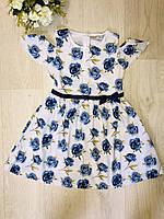 Платье для девочек оптом, Glo-story, 110-160 рр., арт. GYQ-8121