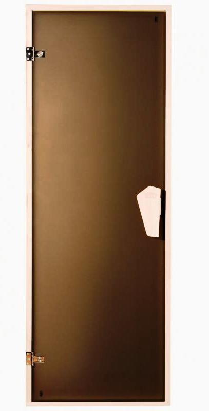 Дверь для сауны, бани Sateen (Матовая) 200*70.
