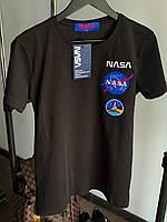 Мужская футболка NASA M367 черная