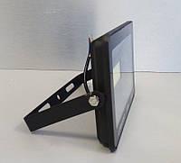 Прожектор светодиодный LED уличный 50w 6500K IP65 3200LM  чёрный, фото 1