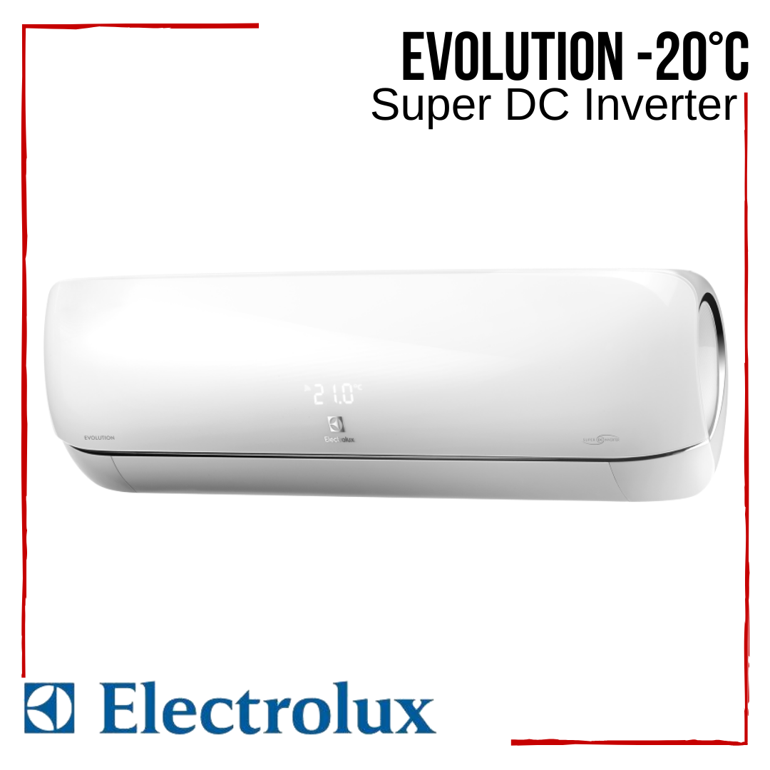 Кондиционер Electrolux EACS/I-11HEV/N3 Evolution Super DC Inverter -20°С инверторный до 35 м2