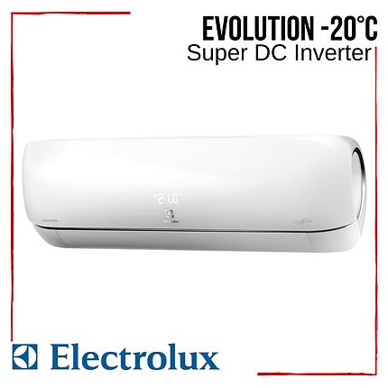 Кондиционер Electrolux EACS/I-11HEV/N3 Evolution Super DC Inverter -20°С инверторный до 35 м2, фото 2