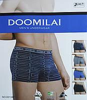 Мужские боксеры Doomilai. Хлопок+бамбук.   D01347.