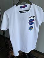 Мужская футболка NASA M369 белая