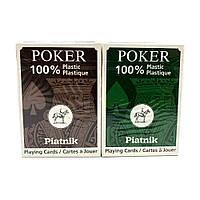 Покерные карты Piatnik Poker 100% Plastic
