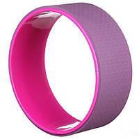 Колесо кольцо для йоги и фитнеса EVA 33 х 12 см