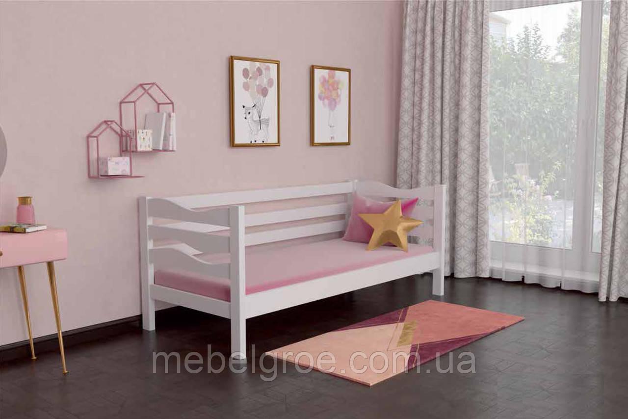 Деревянная односпальная кровать 90 Делиция тм Мекано