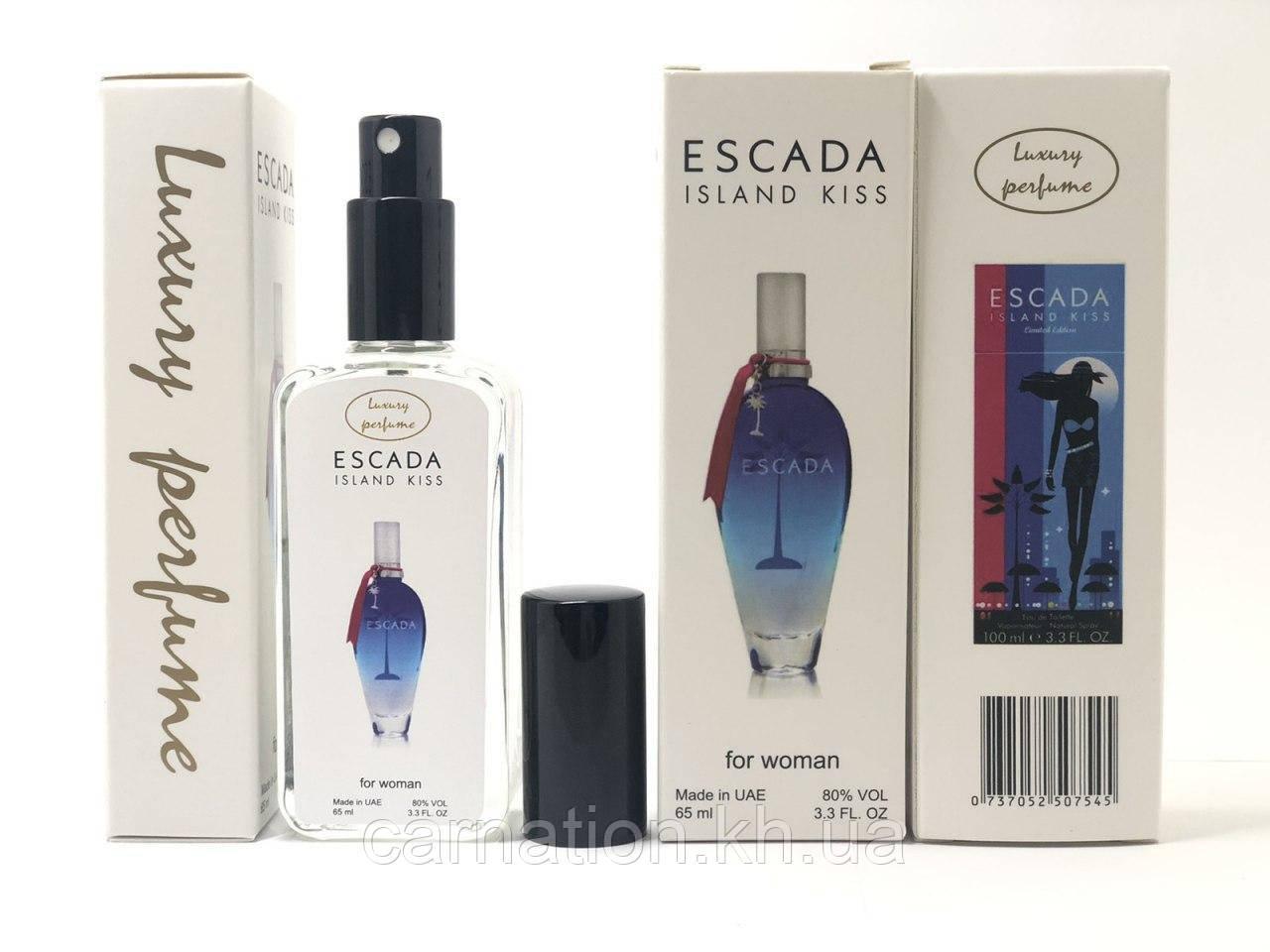 Женский тестер Escada Island Kiss Luxury Perfume (Эскада Айсленд Кис) 65 мл