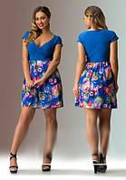 Платье- сарафан женский мини. Шифон 46-48 р.