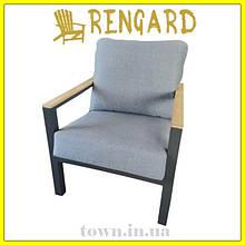 Мягкое кресло для дома Lilis, дизайнерское в стиле лофт.Стул для кафе,для ресторанов,для терассы,для кухни