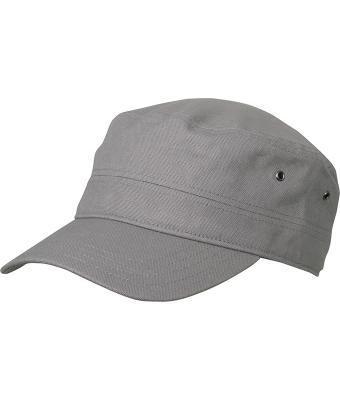 Мужская летняя кепка в стиле милитари темно-серая