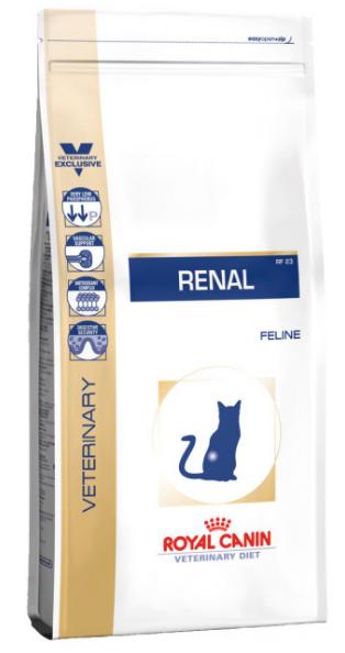 Royal Canin (Роял Канін) RENAL FELINE SPECIAL сухий корм для кішок при хронічній нирковій недостатності, 2 кг