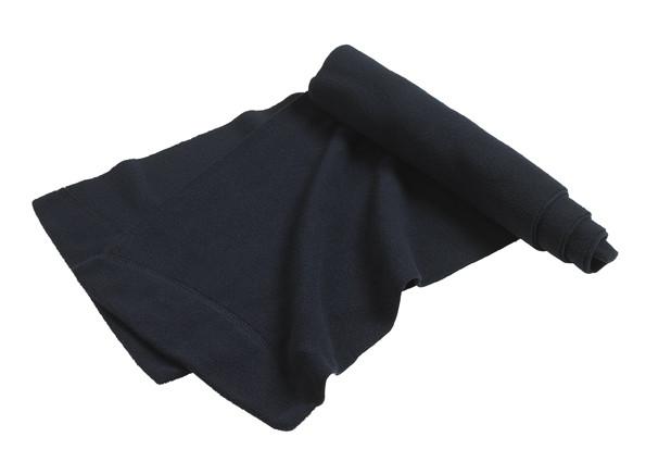 Чоловічий темно-синій утеплений зимовий шарф на флісі