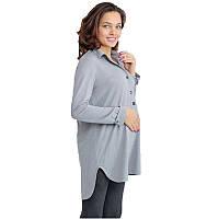Туника для беременных и кормящих Моника MAMA TYTA (серый, размер L)