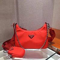 Женская сумка Prada Re-Edition 2005 nylon shoulder bag
