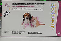 Стронгхолд/Strongho до 2,5 кг капли для котят и щенков