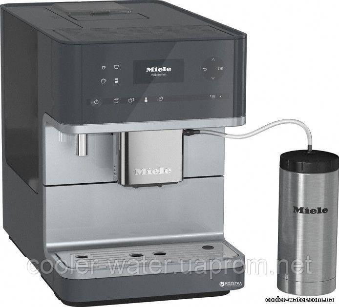 Кофемашина Miele CM 6350 Graphite Grey