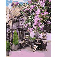 Картина по номерам Уютный ресторанчик ТМ Идейка 40 х 50 см КНО4653