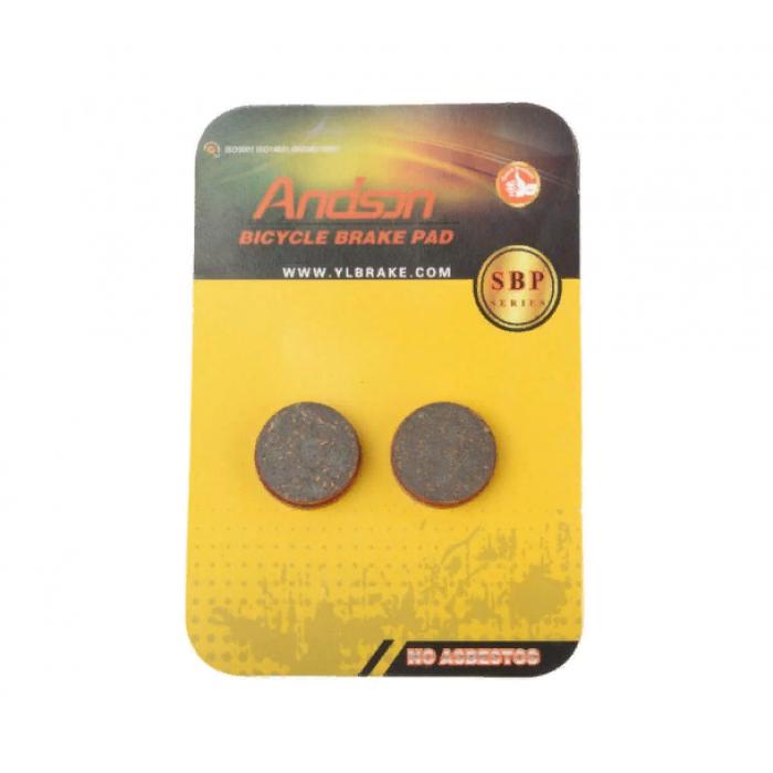 Тормозные колодки велосипедные (дисковые) Круг (mod:SBP-1005)