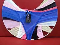 Женские бикини сетка Р.р 48-52 один цвет в упаковке