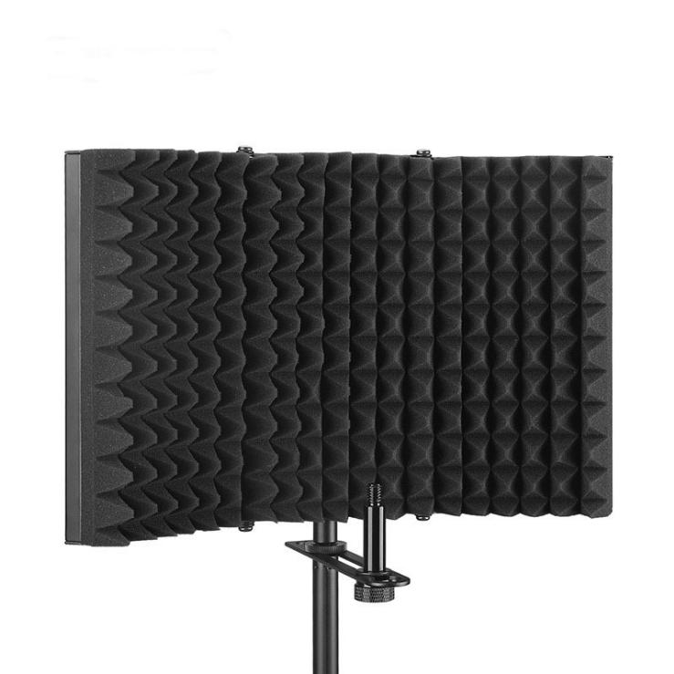 Акустический экран для микрофона - Черный