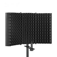 Акустический экран для микрофона - Черный, фото 1