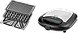 Бутербродница ECG S 299 Black (3 в1 сенд/гриль/вафли, 700Вт, черный), фото 5