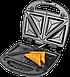 Бутербродница ECG S 299 Black (3 в1 сенд/гриль/вафли, 700Вт, черный), фото 4