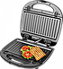 Бутербродница ECG S 299 Black (3 в1 сенд/гриль/вафли, 700Вт, черный), фото 2