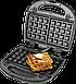 Бутербродница ECG S 299 Black (3 в1 сенд/гриль/вафли, 700Вт, черный), фото 3