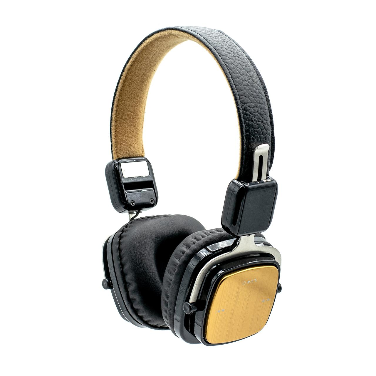 Bluetooth наушники ZW 13 gold с микрофоном
