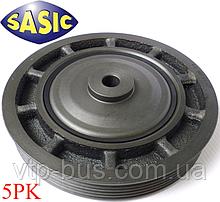 Ременной шкив коленчатого вала (5PK) на Renault Trafic 1.9dCi (2001-2006) Sasic (Франция) SAS2154015