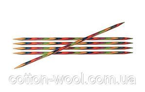 Спиці Symfonie Wood KnitPrо (Симфоні Вуд) 10 см 2,25 мм