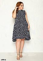 Молодежное женское летнее модное  платье размер 48-52